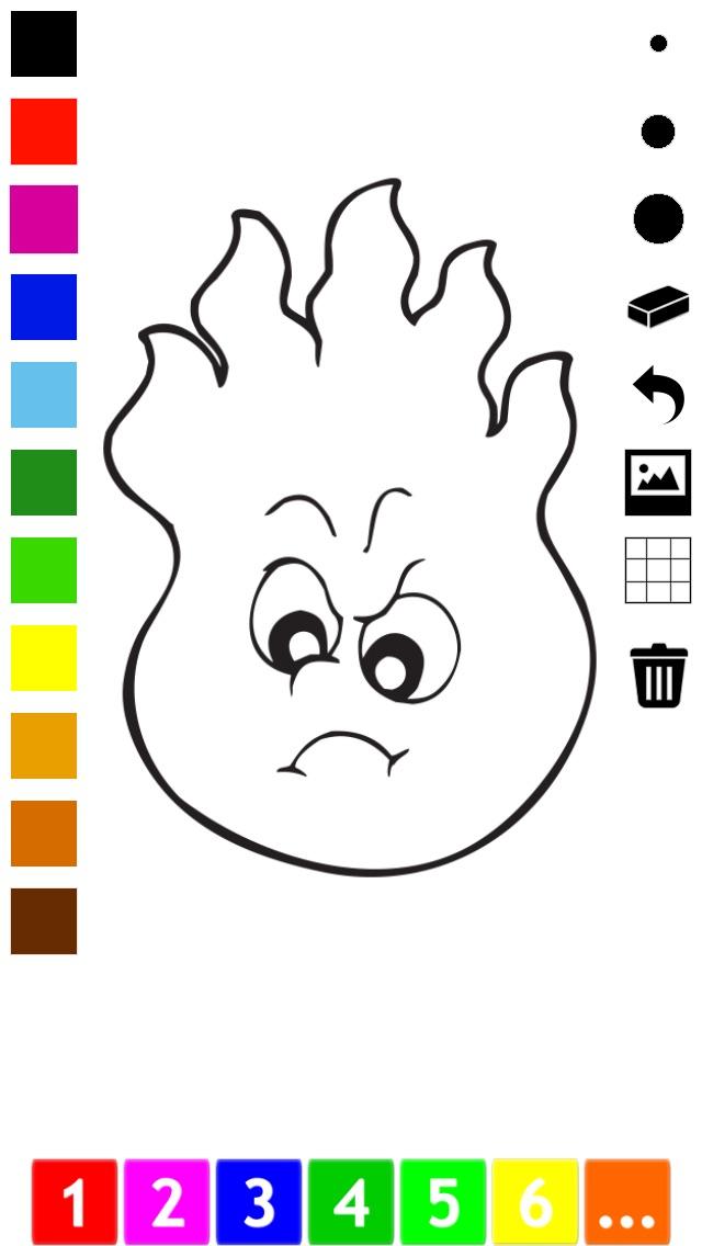 Actif! Livre À Colorier des Animaux Pour Les Enfants D'apprendre À Peindre des TableauxCapture d'écran de 3