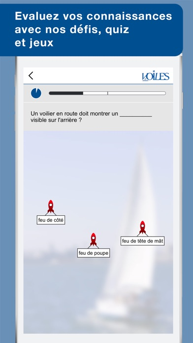 download Feux & marques des navires - Voiles et voiliers - Au programme du Permis Côtier apps 4