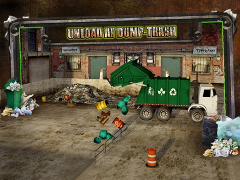 Screenshot #5 pour Garbage Trucker Recycling Simulation