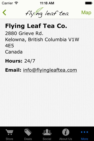 Flying Leaf Tea Co. screenshot 4