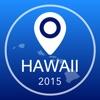 Hawaii Offline Karte + Stadtführer Navigator, Sehenswürdigkeiten und Verkehr