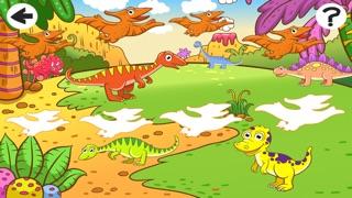 Screenshot of Attivo! Ordina Per Dimensioni Per i Bambini Con i Dinosauri3