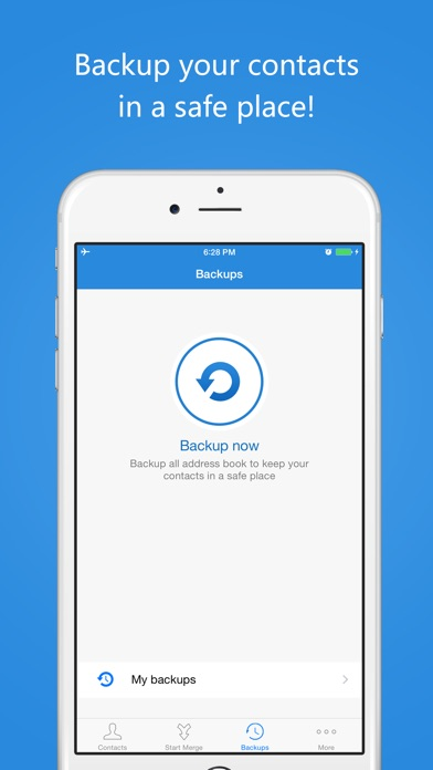 Contact Cleaner & Merge Screenshots