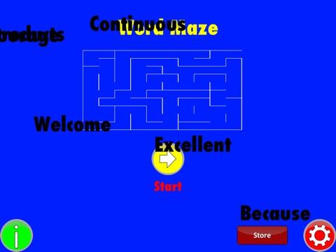 Word Maze screenshot 2