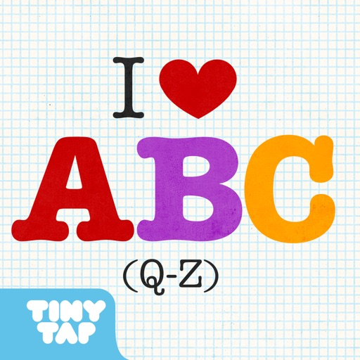 I Love A.B.C (Q-Z) - Kids learn alphabet letters A to Z