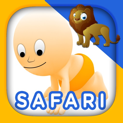 Safari and Jungle Animals for Babies: Touch HD Images & Listen Sounds of  Animal with Best Flashcards Game and Top Fun for Kids