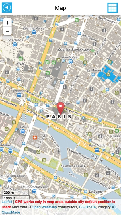 paris offline gps map travel guide free