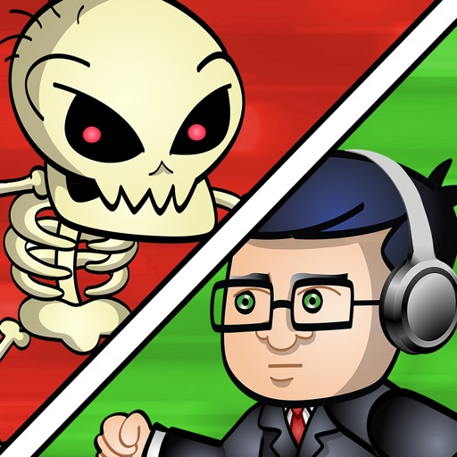 Nasty Monsters vs Angry Video Game Nerd – Avoid sinister creatures like nosferatu, banshee, hag, pumpkin head, antichrist, omen, infected corpse, obsessed, lucifer, necromancer, incubus, wraith, soulless, filthy cannibal, chupacabra, gargoyle, sasquatch iOS App