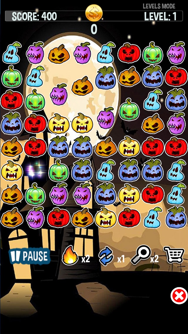 download Haunted Halloween Spooky Ghost Pumpkins Crush Party apps 1