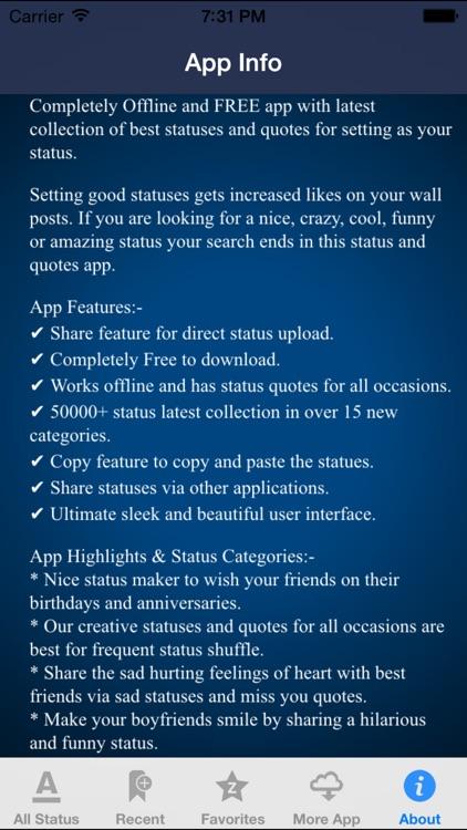 nice status download