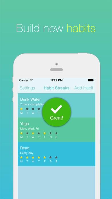 habit streaks create good habits break bad ones app download android apk. Black Bedroom Furniture Sets. Home Design Ideas