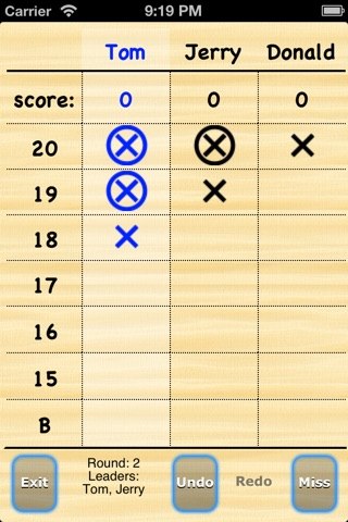 Darts Scores screenshot 4