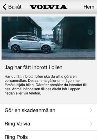 Volvia försäkring för Volvo screenshot 3