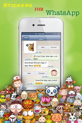 Stickers for Facebook Messenger, WeChat, Viber & WhatsApp...etc screenshot 1