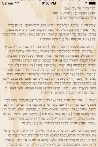 Pocket Luach Deluxe - The Jewish Calendar (siddur, zmanim) screenshot 3