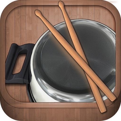 Free Pot & Pan Drumming App for Kids. Pantastic. iOS App