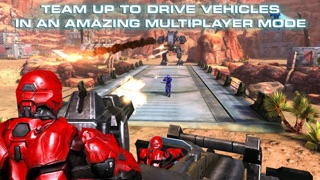Screenshots of N.O.V.A. 3: Freedom Edition - Near Orbit Vanguard Alliance game for iPhone