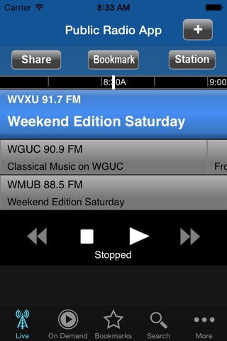 Public Radio App screenshot 2