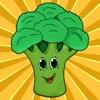 Attivo! Libro da Colorare di Frutta e Verdura Per i Bambini Piccoli e Bambini: Imparare Con Immagini