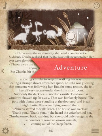 Darling Zhuzha-4. Interactive Animated Fairy Tales / Book for Kid 6+ screenshot 4