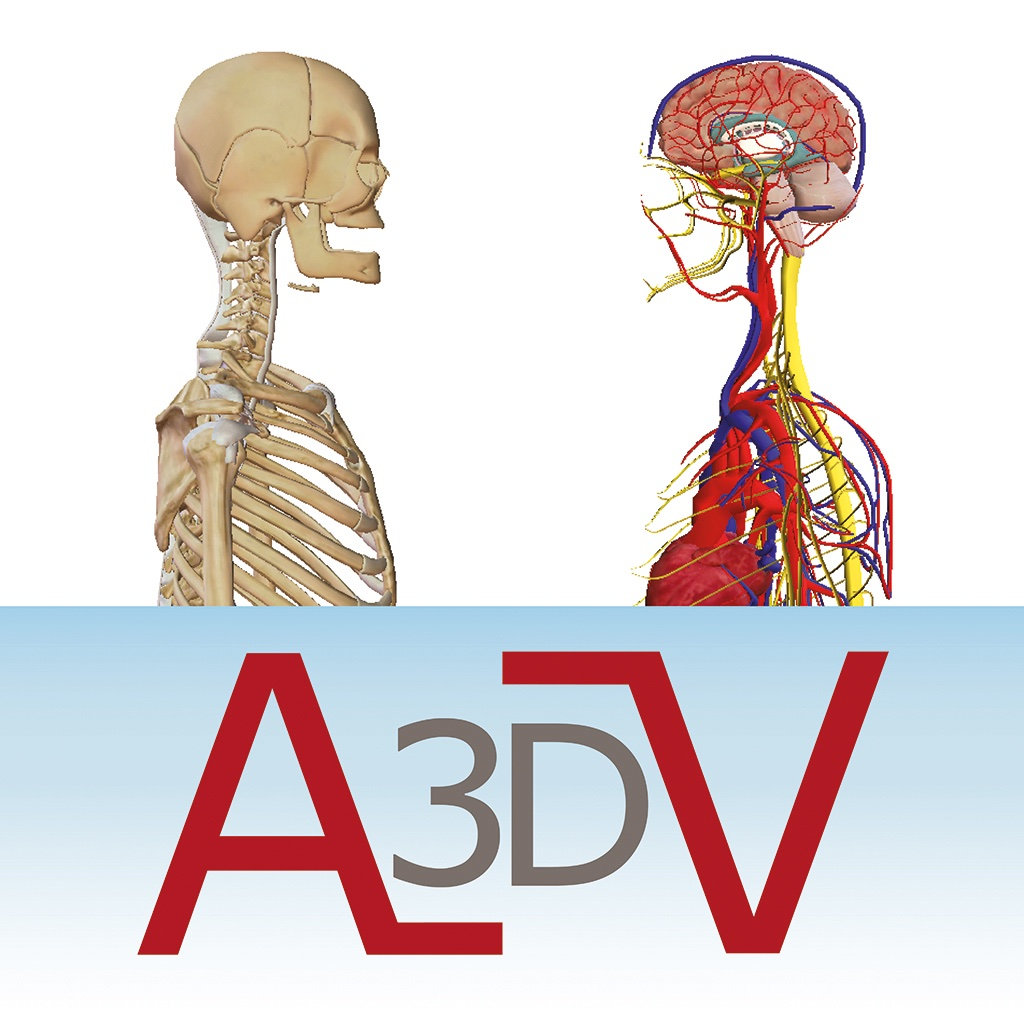 VMV3D - HUMAN 3D ANATOMY ATLAS | FREE iPhone & iPad app market