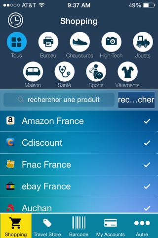 Shoppers App - Barcode reader, compare multiple online offers screenshot 1