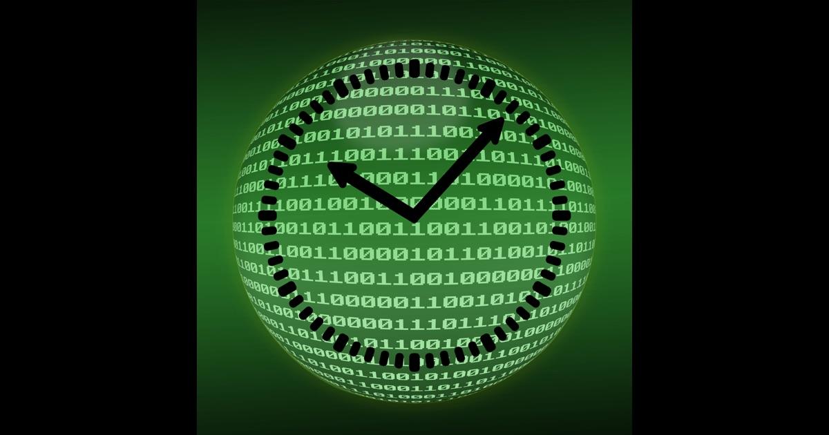 Binary countdown timer