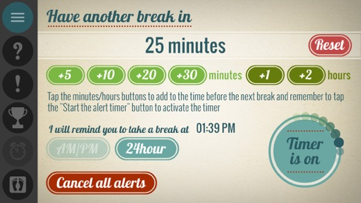 get up work break timer on the app store