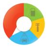 AutoStat - Kraftstoff für Autos, AutoKosten, Benzin Log