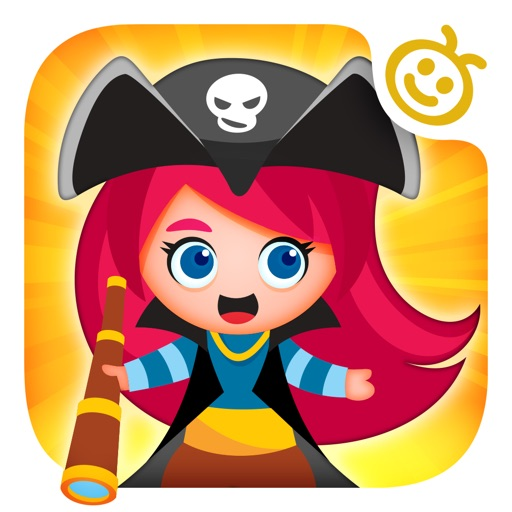 Pirates!! — Pirate Kids Game w/ Challenging Preschool Mini Games & Puzzles