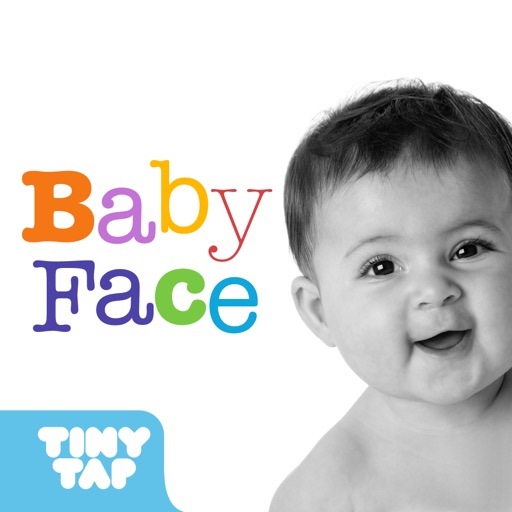 Baby Face - Learn the different parts of the face