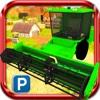 3D Farm Harvester Parking Simulator Free harvester