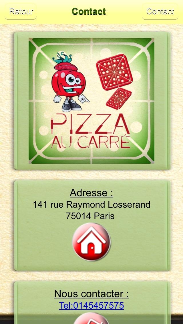 Pizza Au CarréCapture d'écran de 3