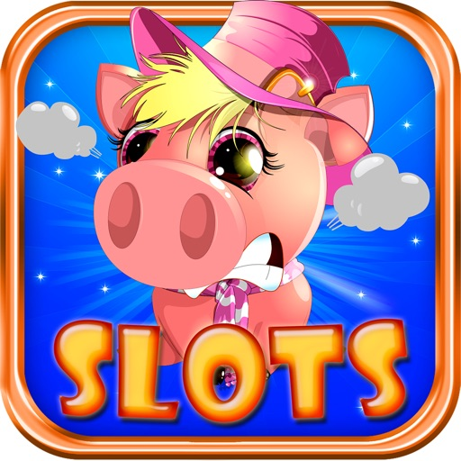 Angry Piggies POP! Slots: Farm Casino iOS App