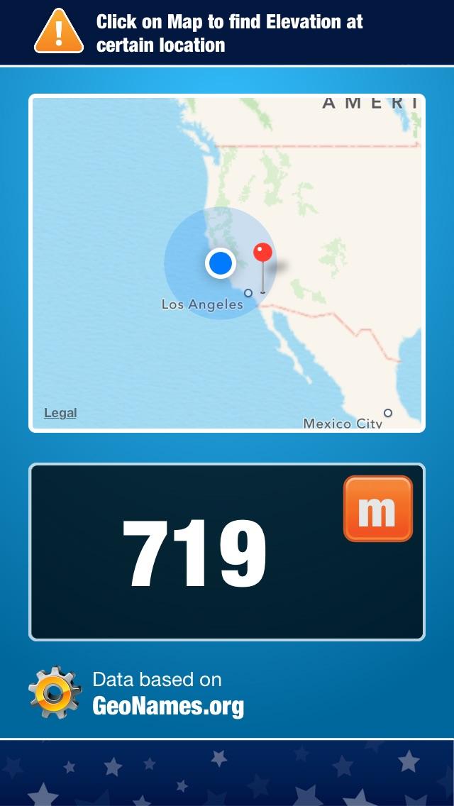 Mon Altitude gratuit - Geo relief AltimètreCapture d'écran de 1