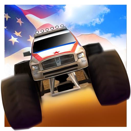 American Monster Truck Stunt Simulator : Free Fun Game For Kids iOS App