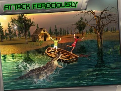 Screenshot #4 pour Swamp Crocodile Simulator 3D