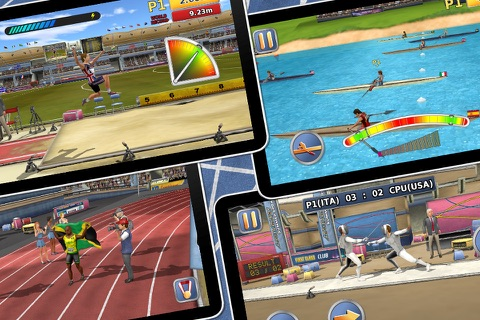 Athletics 2: Summer Sports screenshot 3