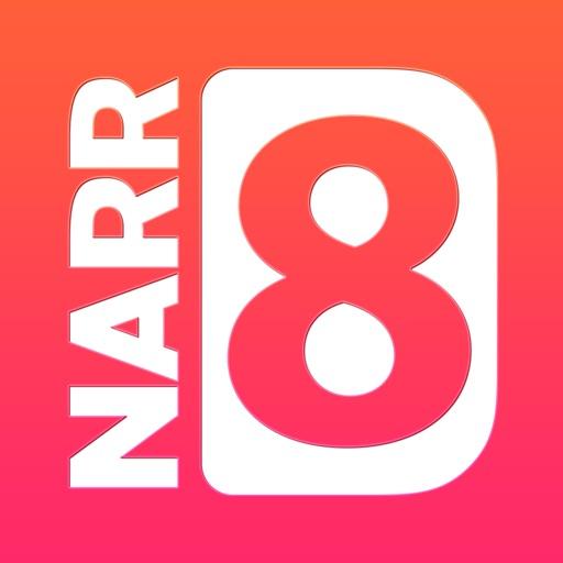 NARR8 — комиксы, романы, научпоп. Бесплатный канал интерактивного контента.