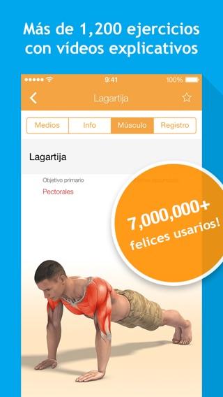 Todo-en-Uno Fitness: 1200 Ejercicios, Entrenamientos, Rastreador de Calorías, BMI calculadora de Sport.com Screenshot