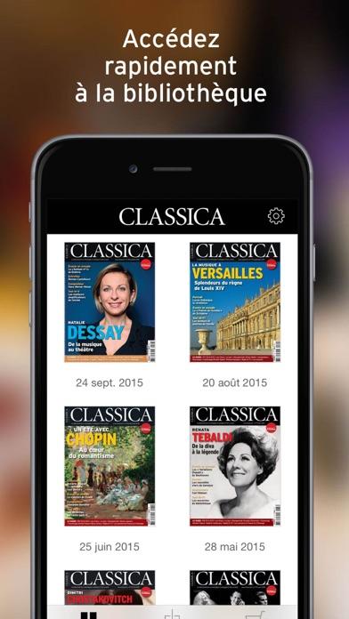 Classica review screenshots