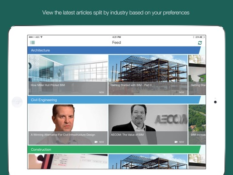 Autodesk® AEC & Civil Engineering Feed – BIM, CAD, and Autodesk software learning resource screenshot 1