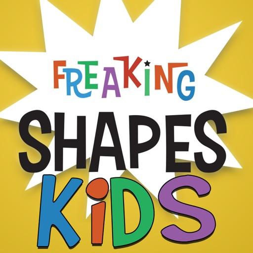 Freaking Shapes Kids Mode iOS App