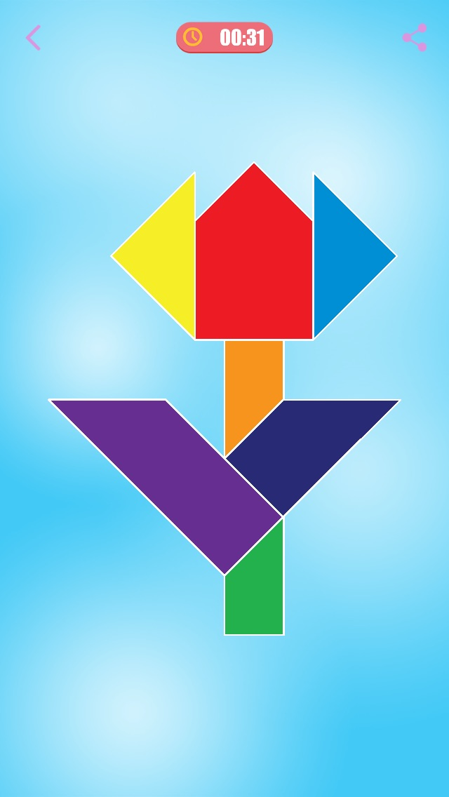 Tangram Puzzle HD screenshot1
