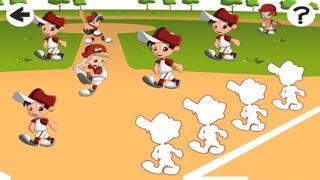 Screenshot of Baby Puzzle: Gioco di Baseball Dei Bambini Per Bambini. Ordinamento Oggetti Per Dimensione2