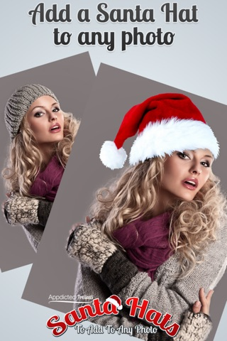 Santa Hats - Virtually add Santa Hats, Beards and Even Santa to your photos screenshot 2