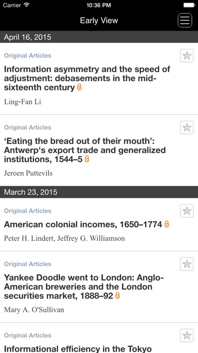 The Economic History ... screenshot1