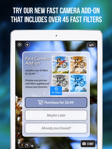 Screenshot #5 for Fast Camera - The Speed Burst, Stealth Cam, 4K Time Lapse Video, Photo Sharing & Stop Motion Photos App