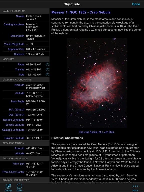Screenshot #2 for SkySafari 5 Plus