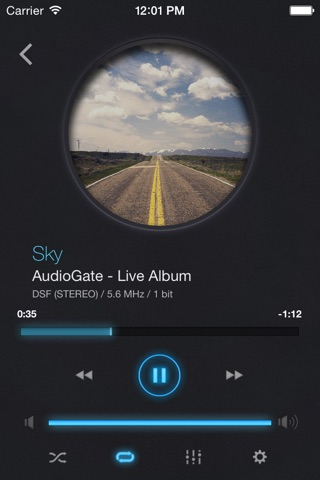iAudioGate screenshot 1